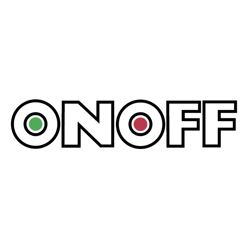 ON OFF vector logo