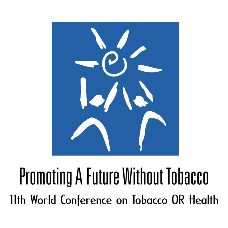 Promoting A Future Without Tobacco vector