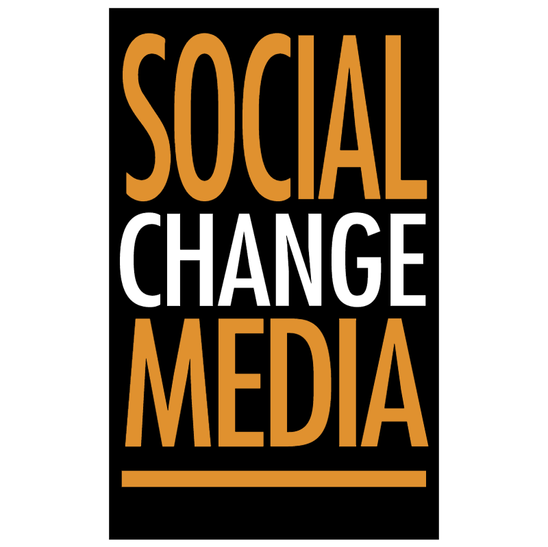 Social Change Media vector logo