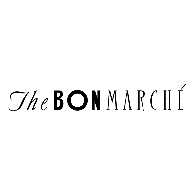 The Bon Marche vector