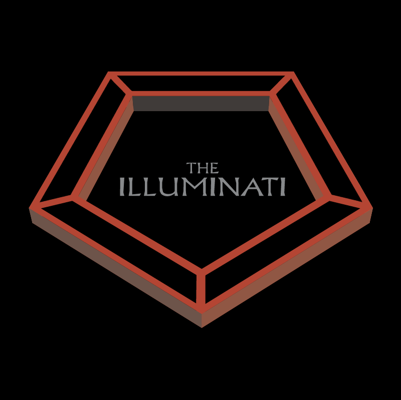 The Illuminati vector logo