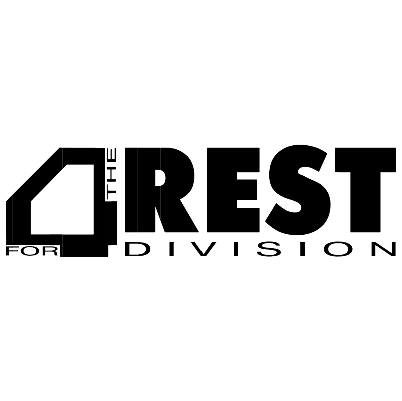 4 Rest for the Division