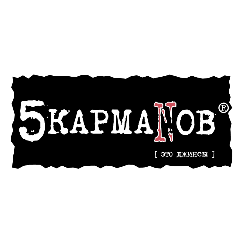 5 karmanov vector logo
