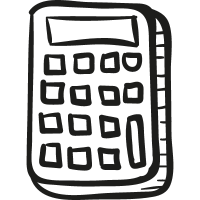 Draw Calculator vector