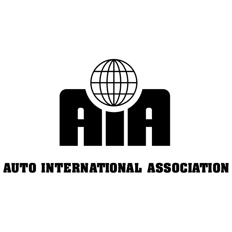 Auto International Association vector