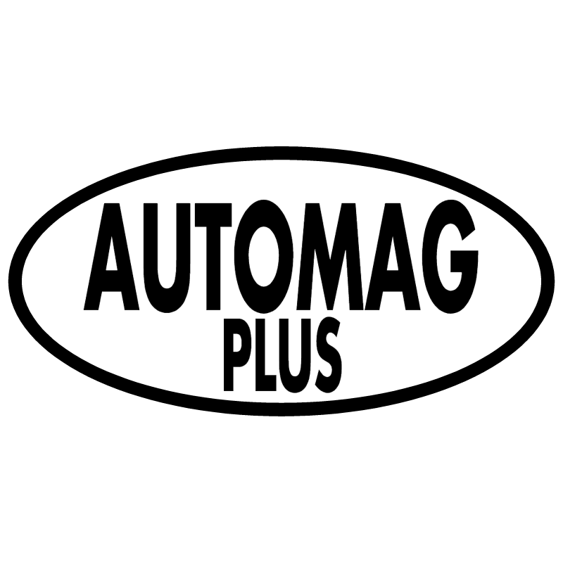 Automag Plus 737 vector logo