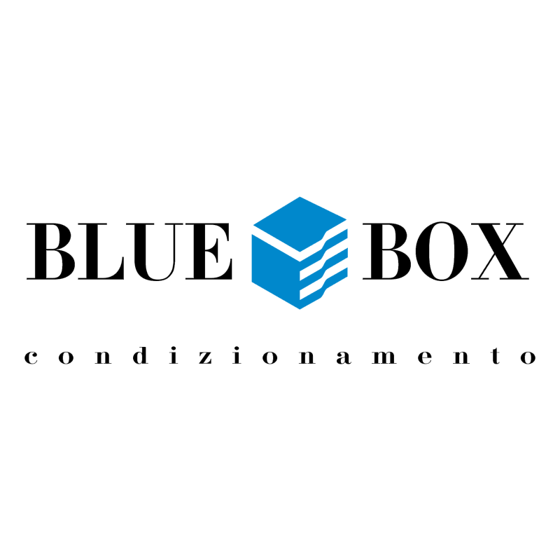 Blue Box vector