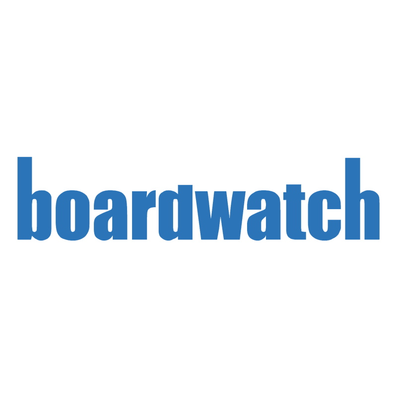 Boardwatch vector logo