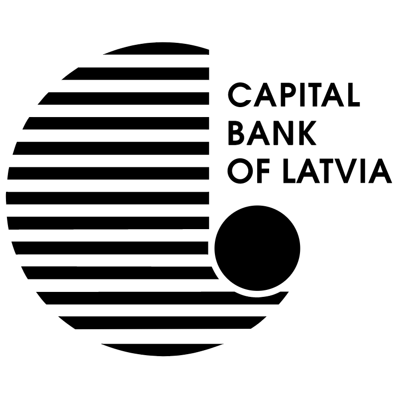 Capital Bank of Latvia vector