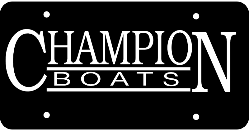 CHAMPION BOATS vector