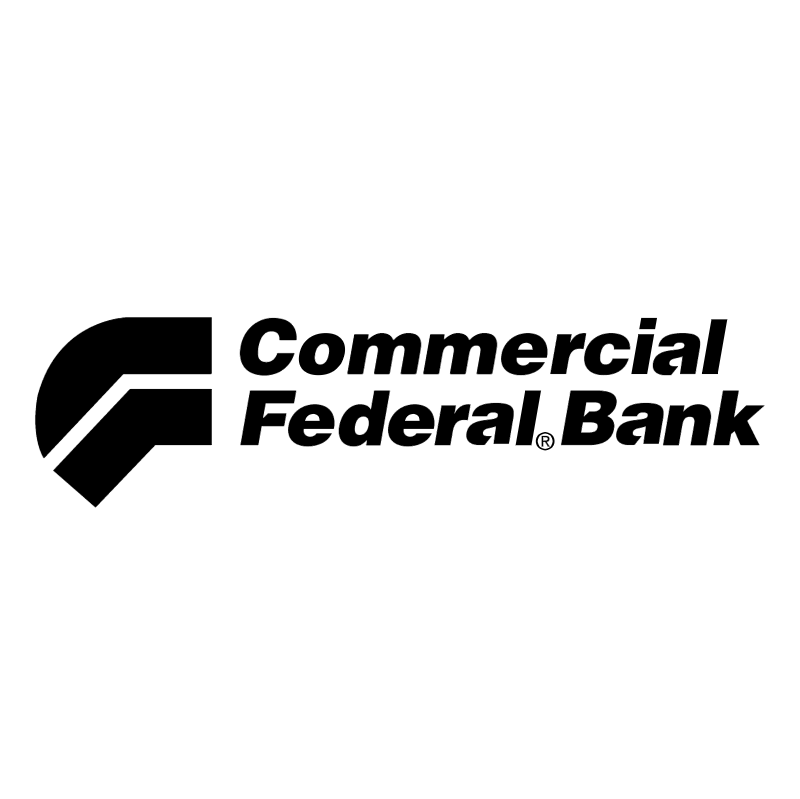 Commercial Federal Bank vector logo