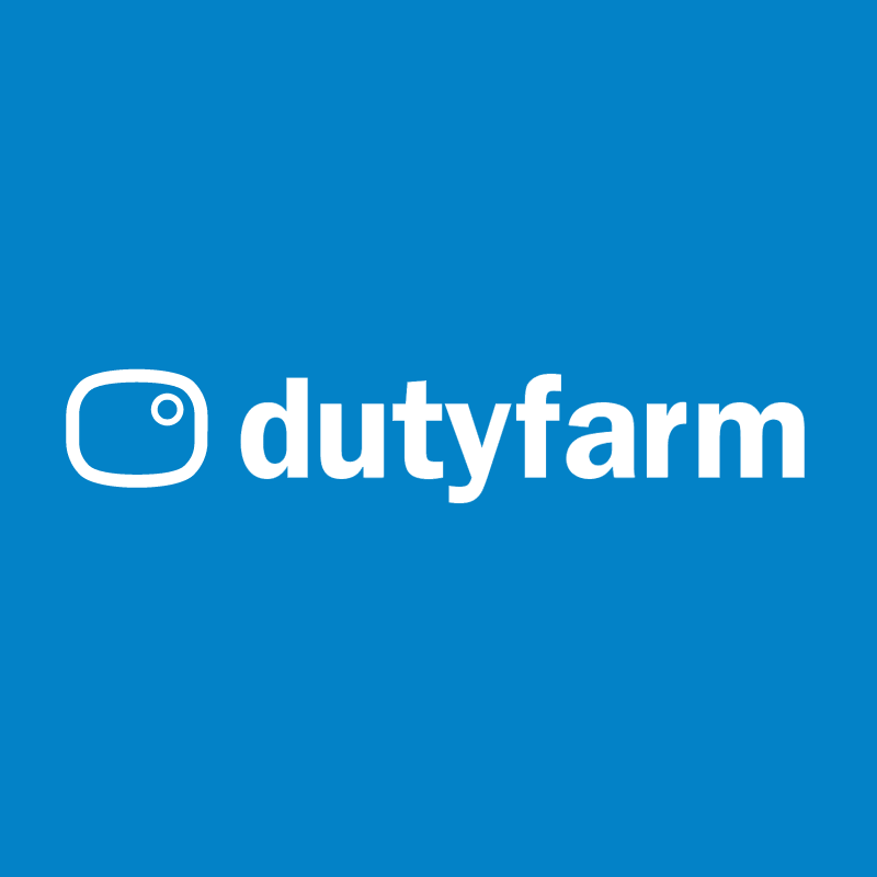 dutyfarm new media vector logo