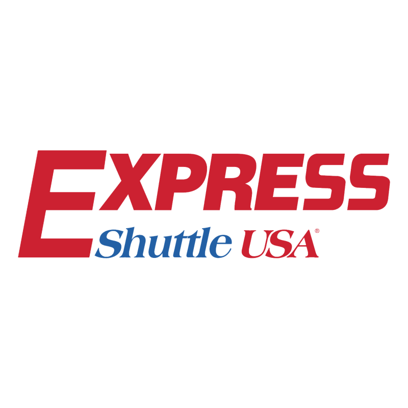 Express Shuttle USA vector