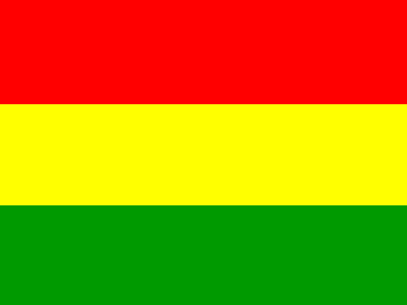 Flag of Bolivia vector logo