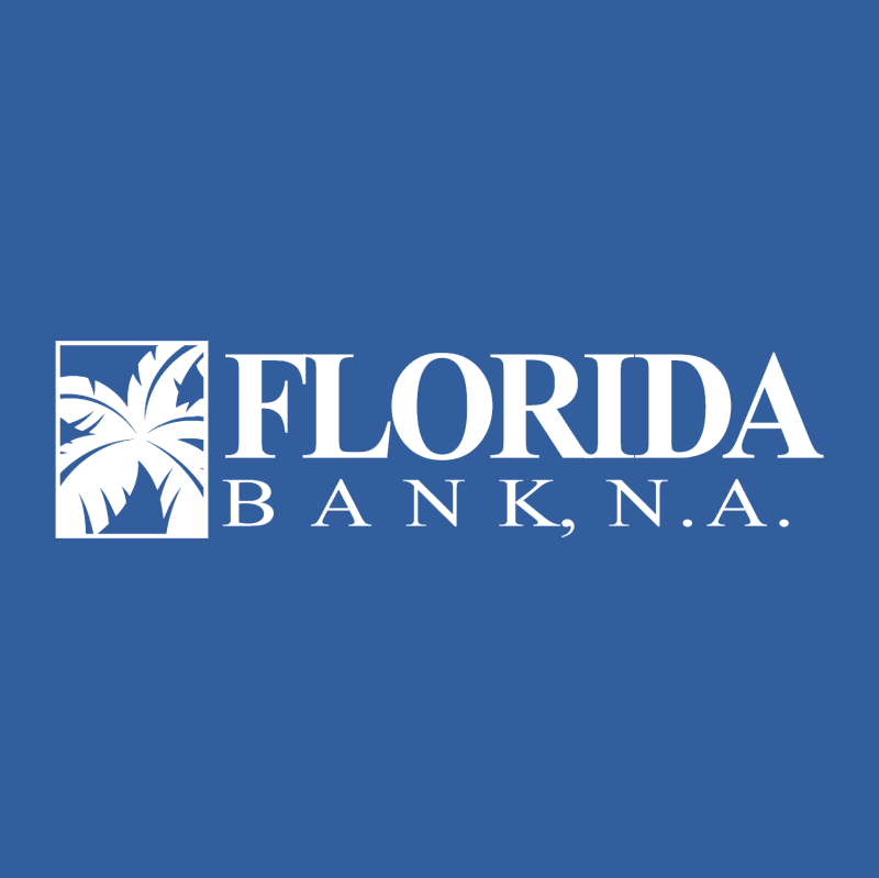 Florida Bank vector