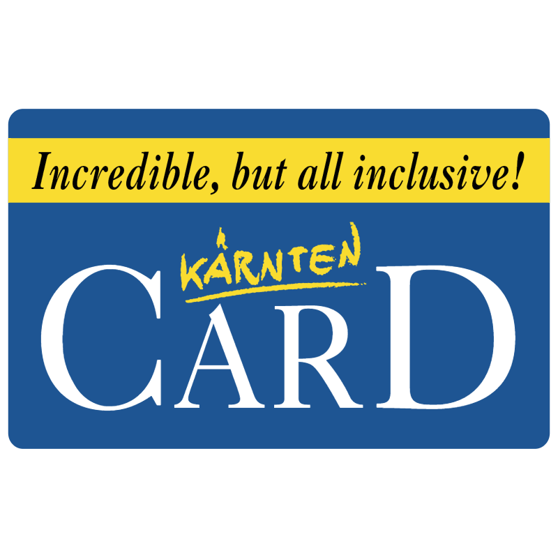 Karnten Card vector