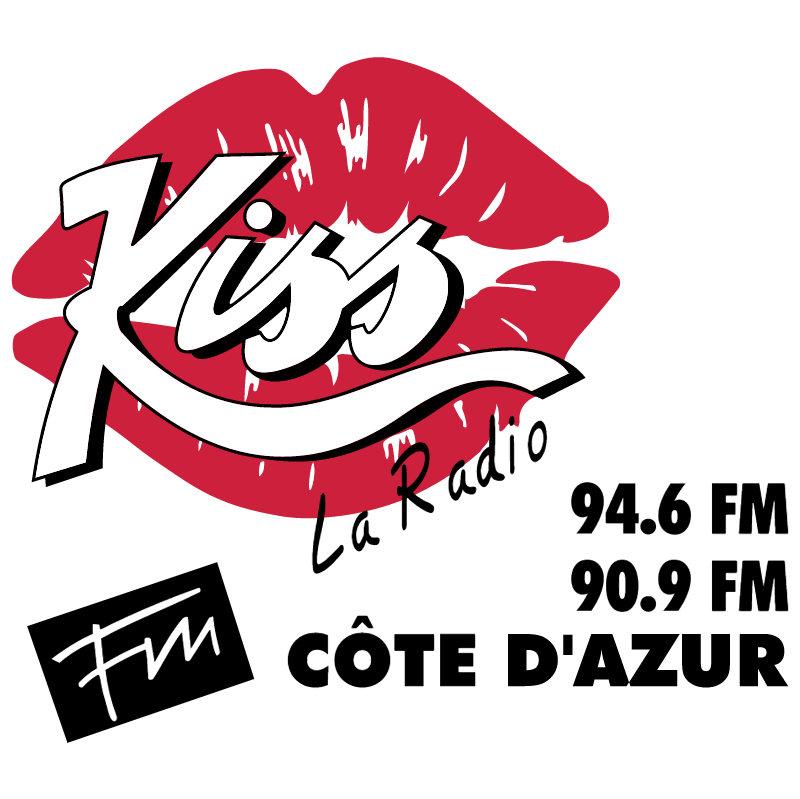 Kiss Radio vector