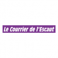 Le Courrier de l'Escaut vector