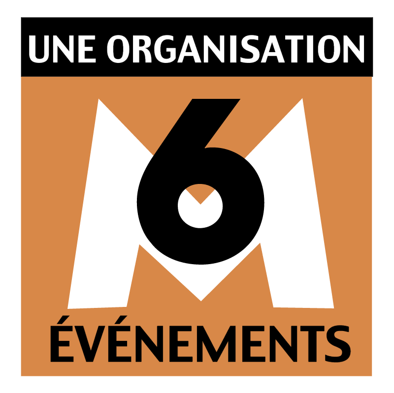 M6 Evenements vector logo