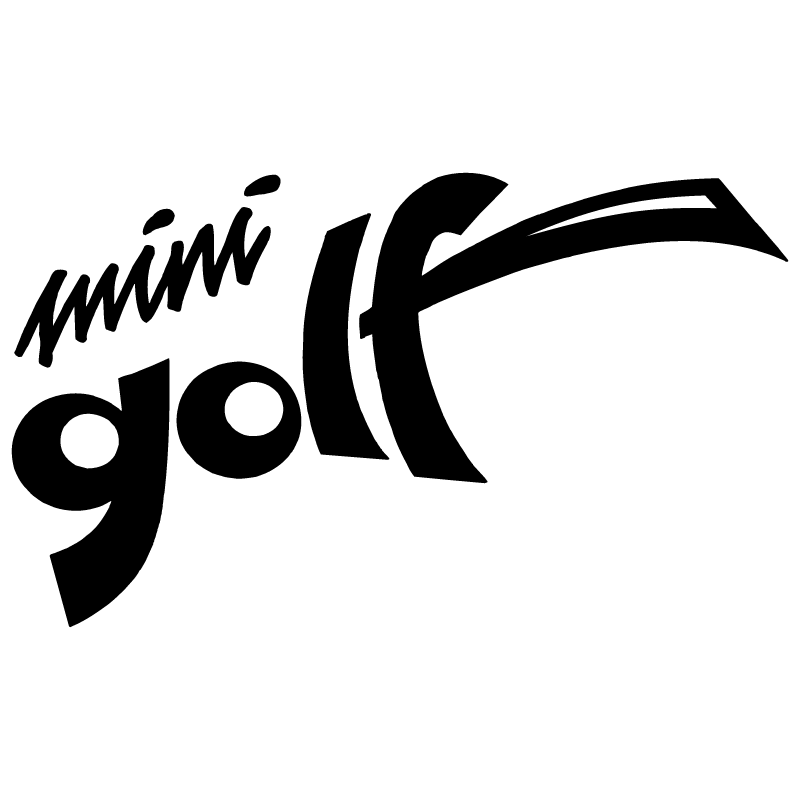 Mini Golf vector logo