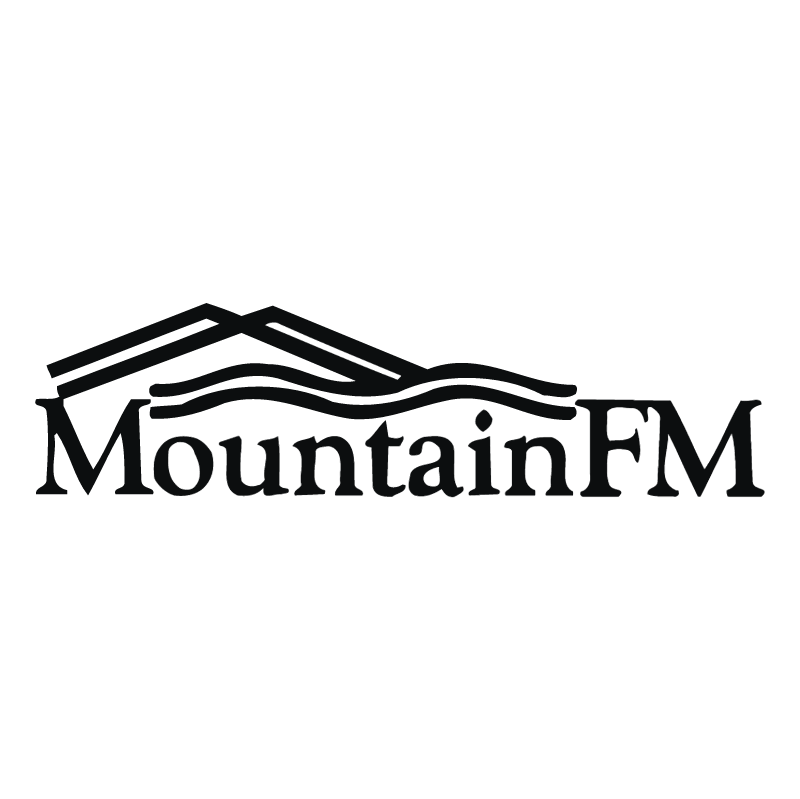 Mountain FM vector