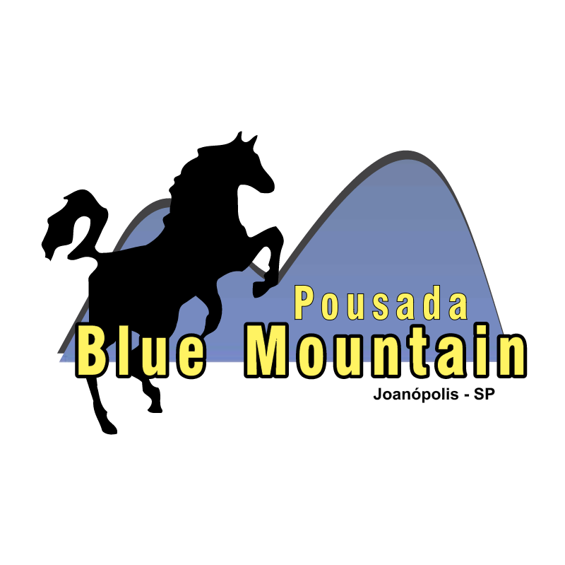 Pousada Blue Mountain vector logo