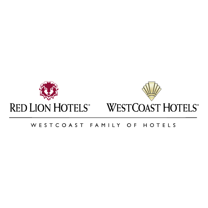 Red Lion Hotels WestCoast Hotels vector logo
