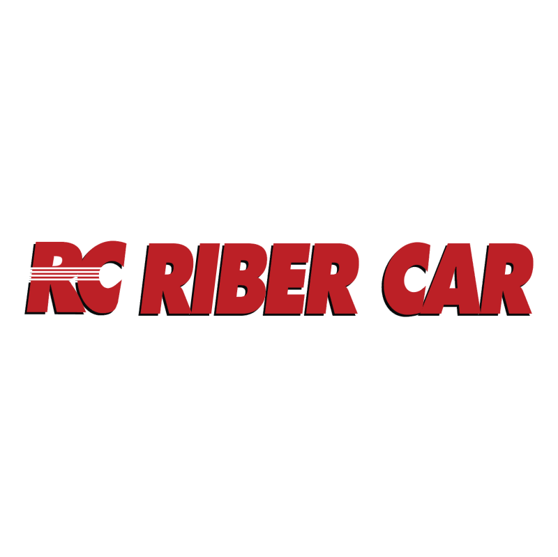 Riber Car vector logo
