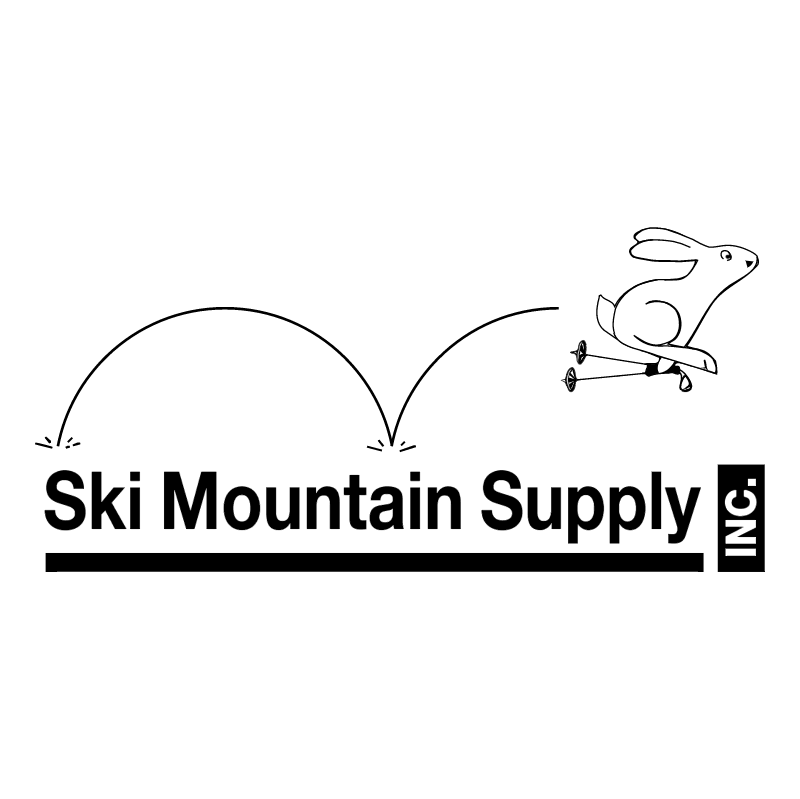 Ski Mountain Supply vector