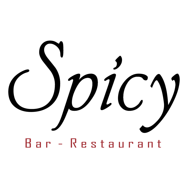 Spicy Bar Restaurant vector