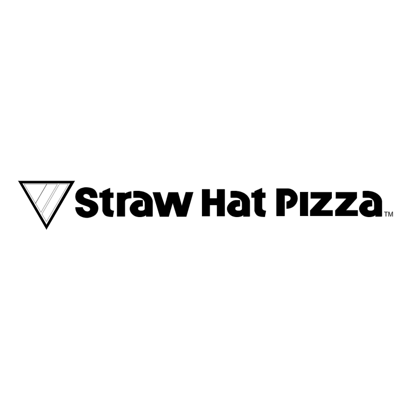 Straw Hat Pizza vector