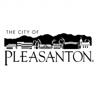 The City of Pleasanton vector