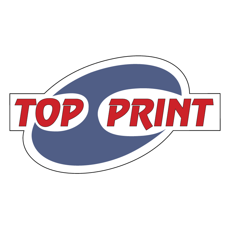 Top Print vector logo