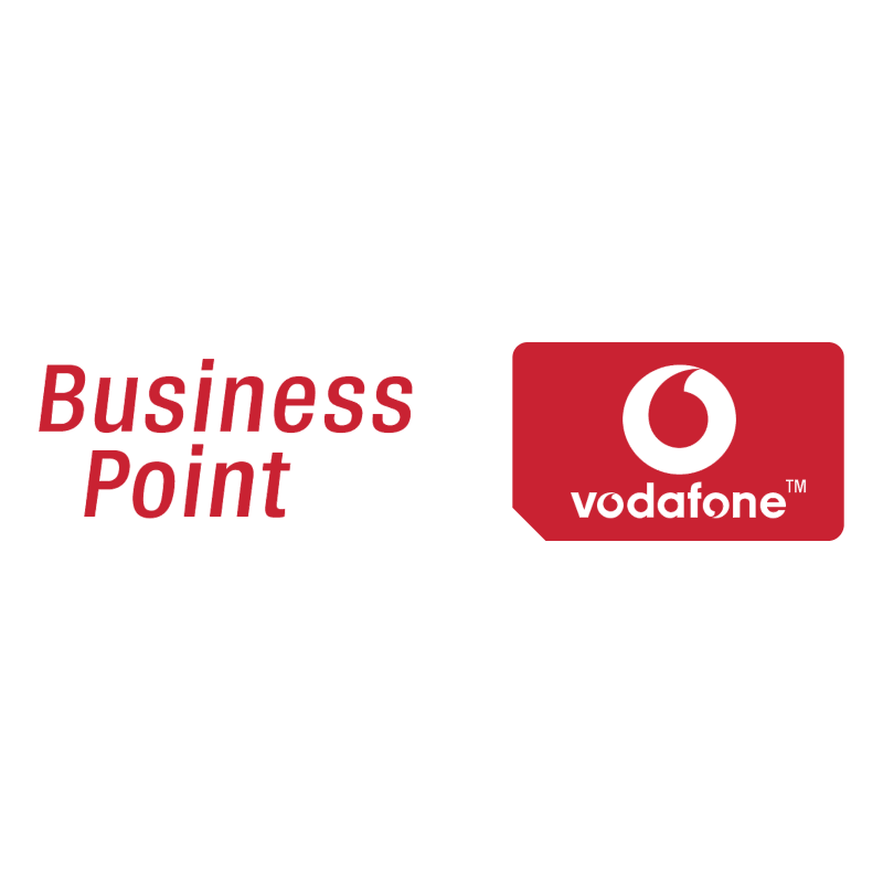 Vodafone Business Point vector