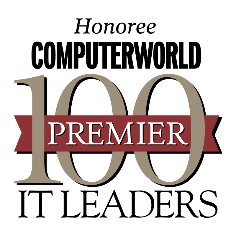100 Premier IT Leaders vector