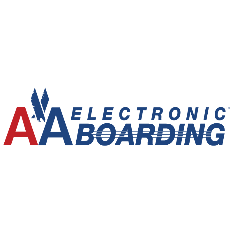 AA Electronic Boarding vector