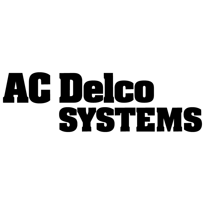 AC Delco Systems 7190 vector