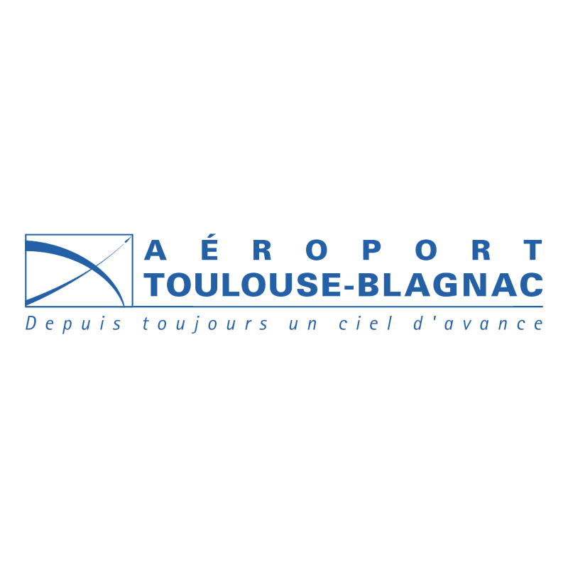 Aeroport Toulouse Blagnac vector