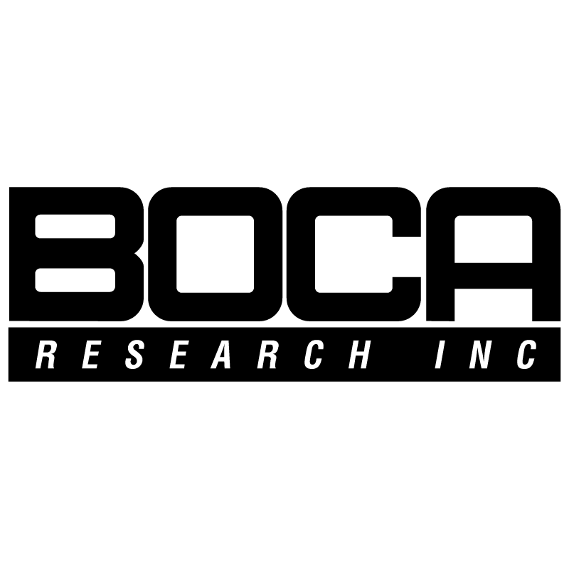 Boca Research vector logo
