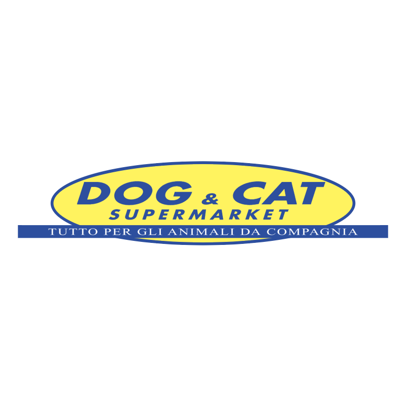 Dog & Cat Supermarket vector