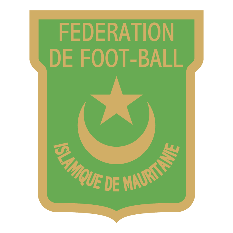 Federation de Foot ball Islamique de Mauritanie vector