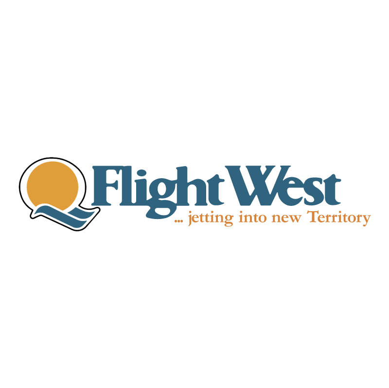 Flight West Airlines vector