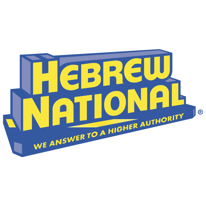 Hebrew National vector