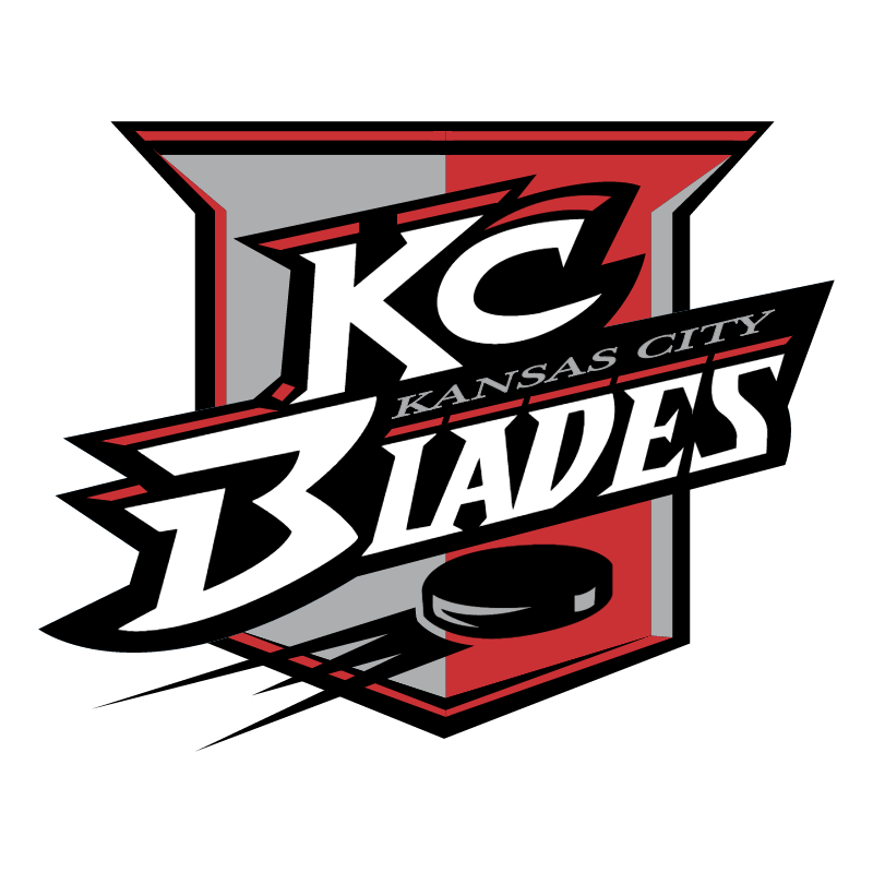 Kansas City Blades vector logo