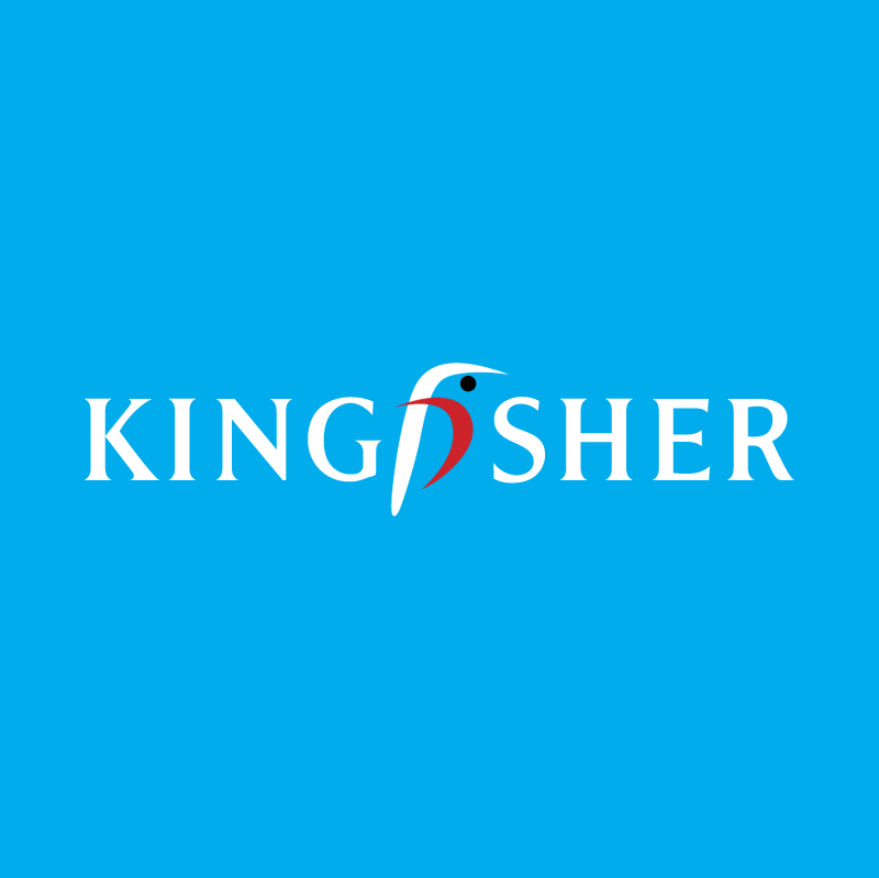 Kingfisher vector logo