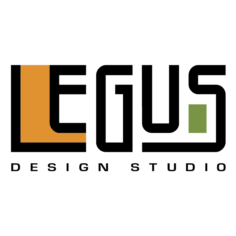 Legus Design Studio vector logo
