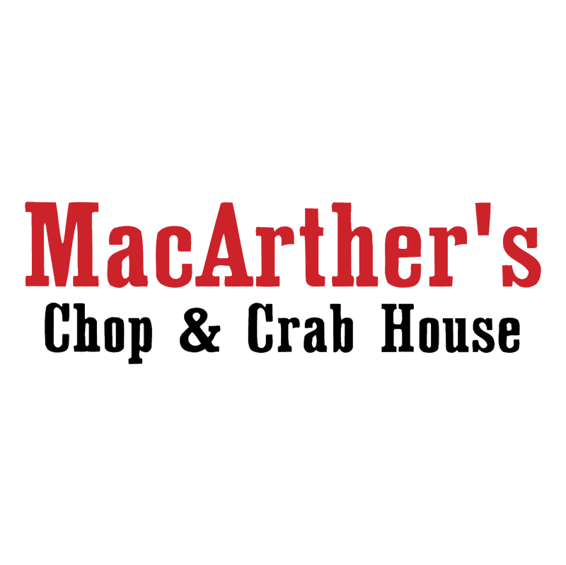 MacArther's Chop & Crab House vector