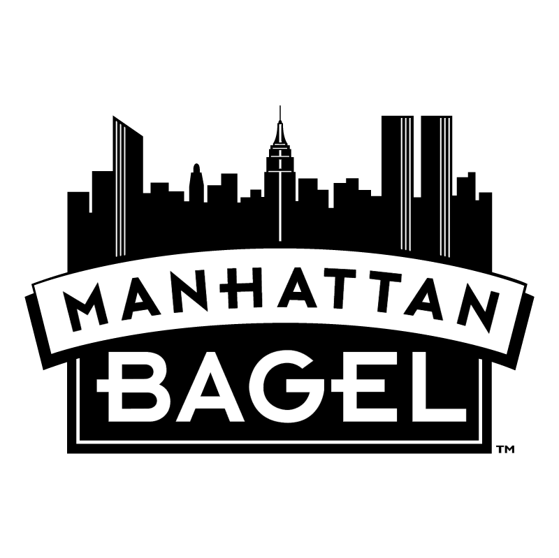 Manhattan Bagel vector logo