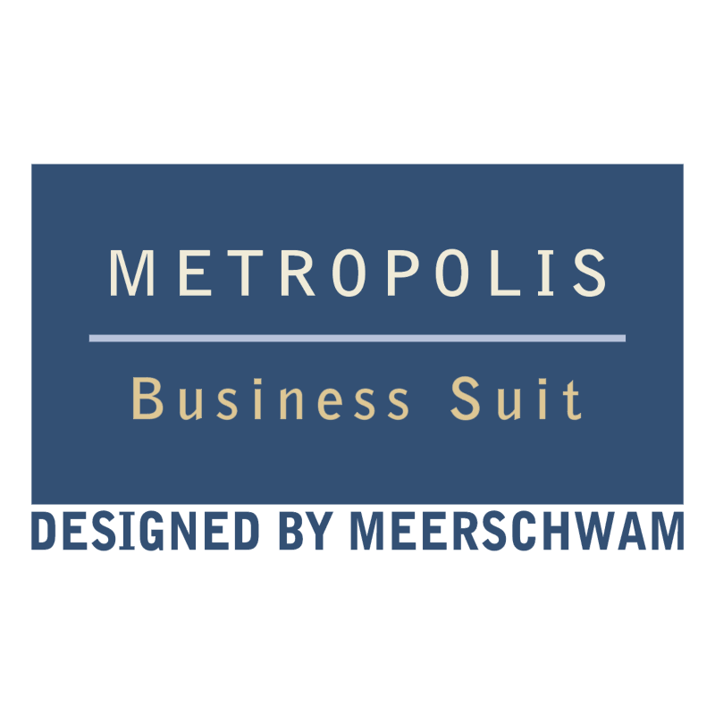 Metropolis Business Suit vector logo