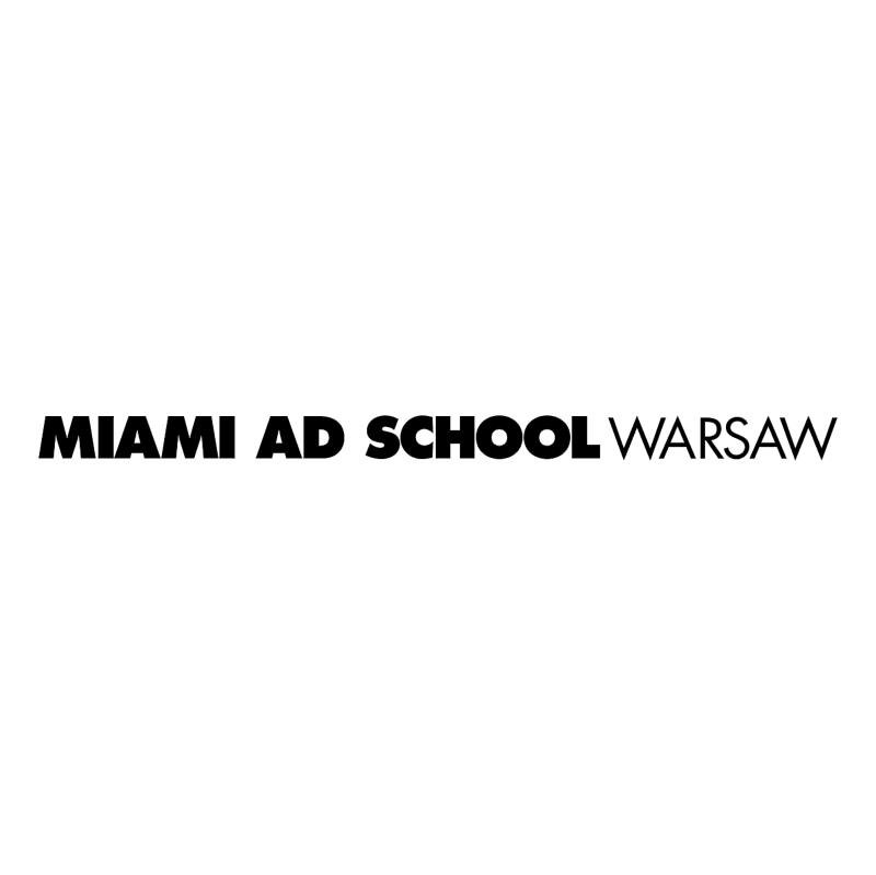 Miami Ad School Warsaw vector